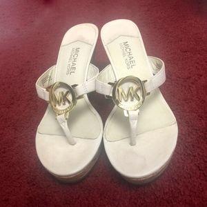 MK wedge heels